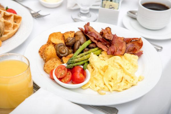 Bacon, Eggs & Veggies